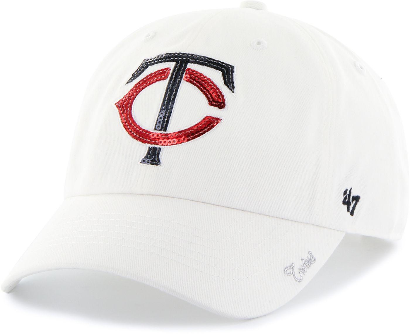 '47 Women's Minnesota Twins Sparkle Clean Up White Adjustable Hat