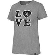 '47 Women's Chicago White Sox LOVE Tri-Blend T-Shirt