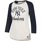 '47 Women's New York Yankees Splitter Raglan Three-Quarter Sleeve Shirt