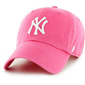 '47 Women's New York Yankees Clean Up Pink Adjustable Hat