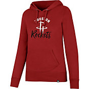 '47 Women's Houston Rockets Red Pullover Hoodie