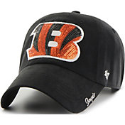 '47 Women's Cincinnati Bengals Sparkle Clean Up Black Adjustable Hat