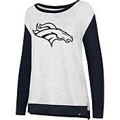 '47 Women's Denver Broncos Kayla Crew Neck Sweater
