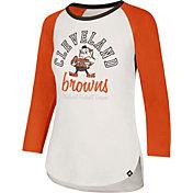 '47 Women's Cleveland Browns Raglan Shirt