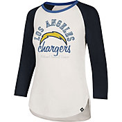 '47 Women's Los Angeles Chargers Raglan Shirt