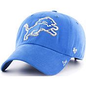 Product Image ·  47 Women s Detroit Lions Sparkle Clean Up Blue Adjustable  Hat.   1209912fc
