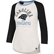 '47 Women's Carolina Panthers Raglan Shirt