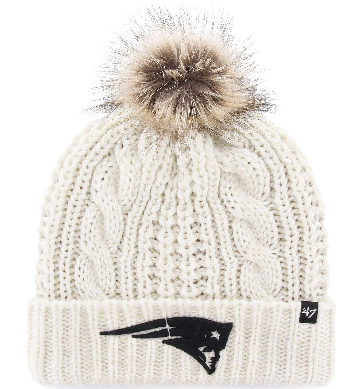 '47 Women's New England Patriots Meeko Cuffed Knit