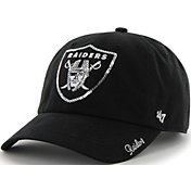 1ee0a48293916 Product Image ·  47 Women s Oakland Raiders Sparkle Logo Black Adjustable  Hat.