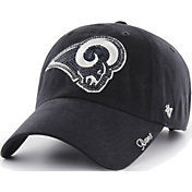 '47 Women's Los Angeles Rams Sparkle Clean Up Navy Adjustable Hat