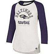 '47 Women's Baltimore Ravens Raglan Shirt