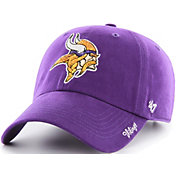 '47 Women's Minnesota Vikings Sparkle Clean Up Purple Adjustable Hat