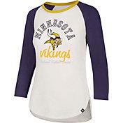 '47 Women's Minnesota Vikings Raglan Shirt