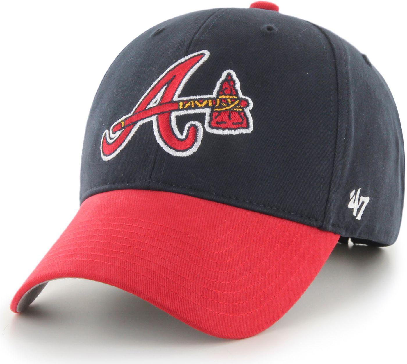 '47 Youth Atlanta Braves Basic Navy Adjustable Hat