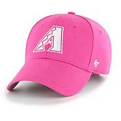 '47 Youth Girls' Arizona Diamondbacks Basic Pink Adjustable Hat