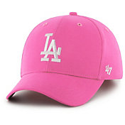 '47 Youth Girls' Los Angeles Dodgers Basic Pink Adjustable Hat