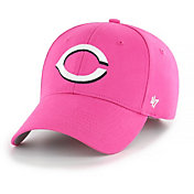 '47 Youth Girls' Cincinnati Reds Basic Pink Adjustable Hat