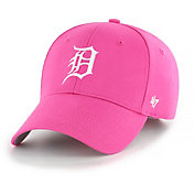 '47 Youth Girls' Detroit Tigers Basic Pink Adjustable Hat