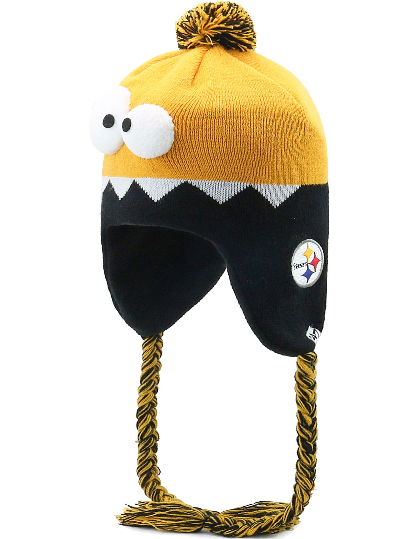 '47 Youth Pittsburgh Steelers Hammerhead Gold Knit Trapper