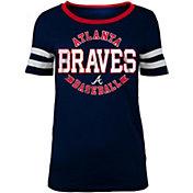 New Era Women's Atlanta Braves Scoop Neck Shirt