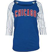 New Era Women's Chicago Cubs Three-Quarter Sleeve Shirt