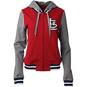 New Era Women's St. Louis Cardinals Full-Zip Hoodie