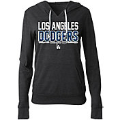 New Era Women's Los Angeles Dodgers Tri-Blend Pullover Hoodie