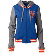 New Era Women's New York Mets Full-Zip Hoodie