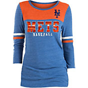 New Era Women's New York Mets Three-Quarter Sleeve Shirt