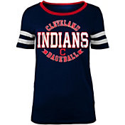 New Era Women's Cleveland Indians Scoop Neck Shirt
