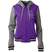 New Era Women's Colorado Rockies Full-Zip Hoodie
