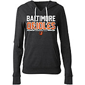 New Era Women's Baltimore Orioles Tri-Blend Pullover Hoodie