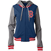 New Era Women's Boston Red Sox Full-Zip Hoodie