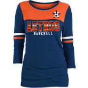 New Era Women's Houston Astros Three-Quarter Sleeve Shirt