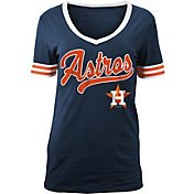 New Era Women's Houston Astros V-Neck T-Shirt