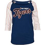 New Era Women's Detroit Tigers Three-Quarter Sleeve Shirt