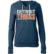 New Era Women's Detroit Tigers Tri-Blend Pullover Hoodie