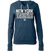 New Era Women's New York Yankees Tri-Blend Pullover Hoodie