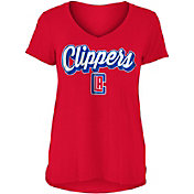 New Era Women's Los Angeles Clippers V-Neck T-Shirt
