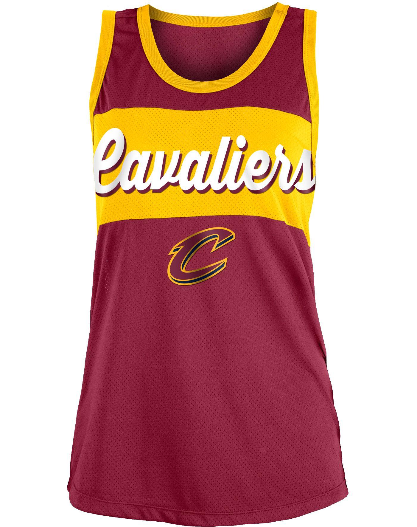New Era Women's Cleveland Cavaliers Mesh Tank