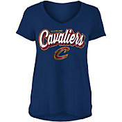 New Era Women's Cleveland Cavaliers V-Neck T-Shirt
