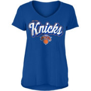 New Era Women's New York Knicks V-Neck T-Shirt