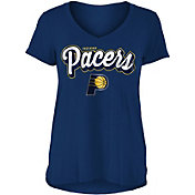 New Era Women's Indiana Pacers V-Neck T-Shirt