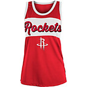 New Era Women's Houston Rockets Mesh Tank