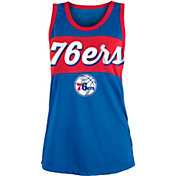 New Era Women's Philadelphia 76ers Mesh Tank