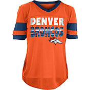 7073314db73 Product Image · NFL Team Apparel Girls  Denver Broncos Mesh Orange Jersey  Top