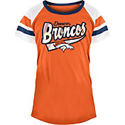 NFL Team Apparel Girls' Denver Broncos Foil T-Shirt