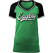 NFL Team Apparel Girls' Philadelphia Eagles Foil T-Shirt