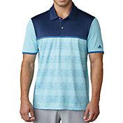 adidas Men's climacool 2D Camo Stripe Golf Polo