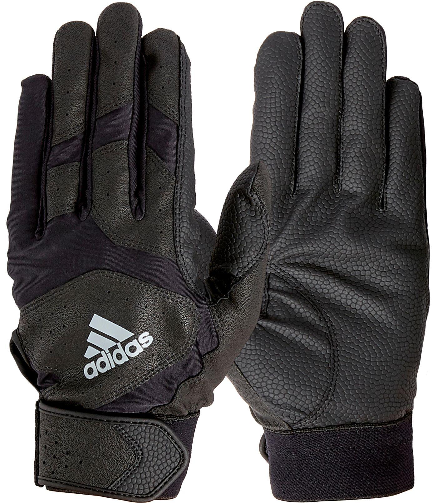 adidas Adult Triple Stripe Batting Gloves